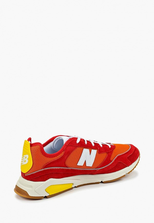 Фото 3 - мужские кроссовки New Balance красного цвета