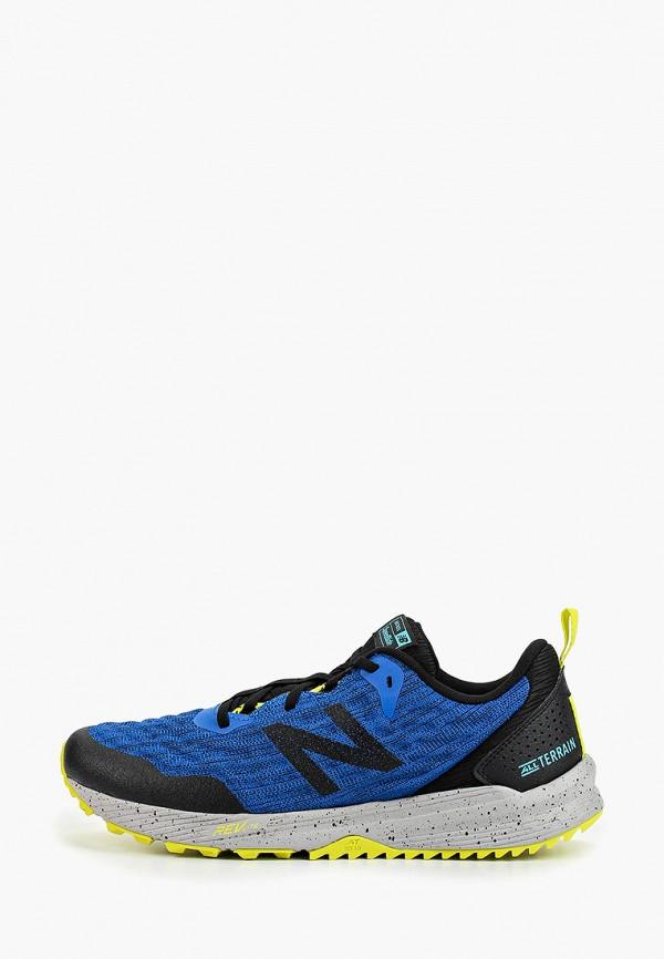 мужские кроссовки new balance, синие