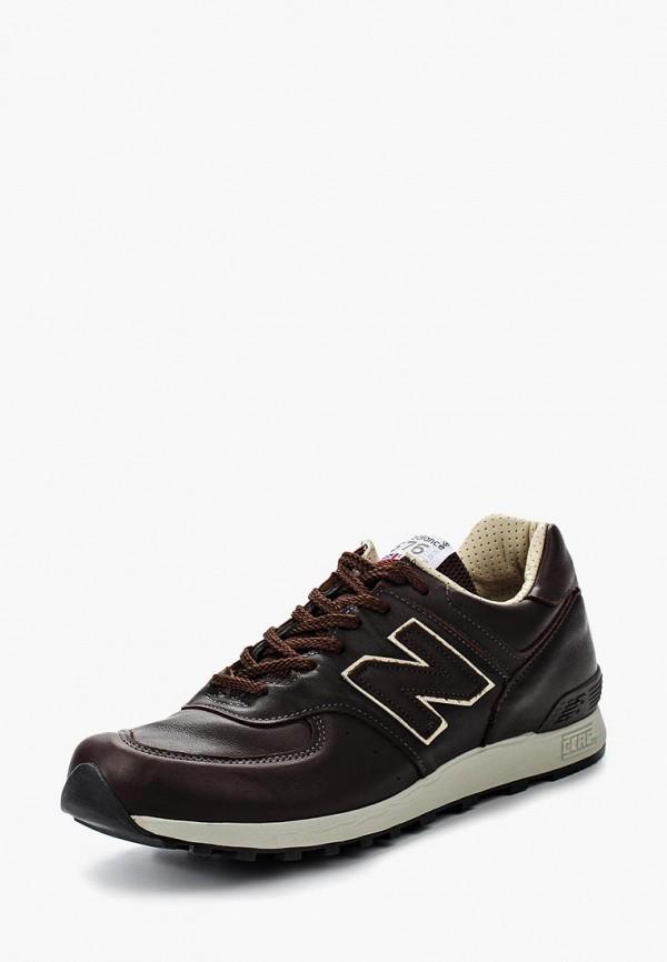 Купить Кроссовки New Balance, M576 (UK) LEATHER PACK, ne007amgiy50, коричневый, Осень-зима 2018/2019