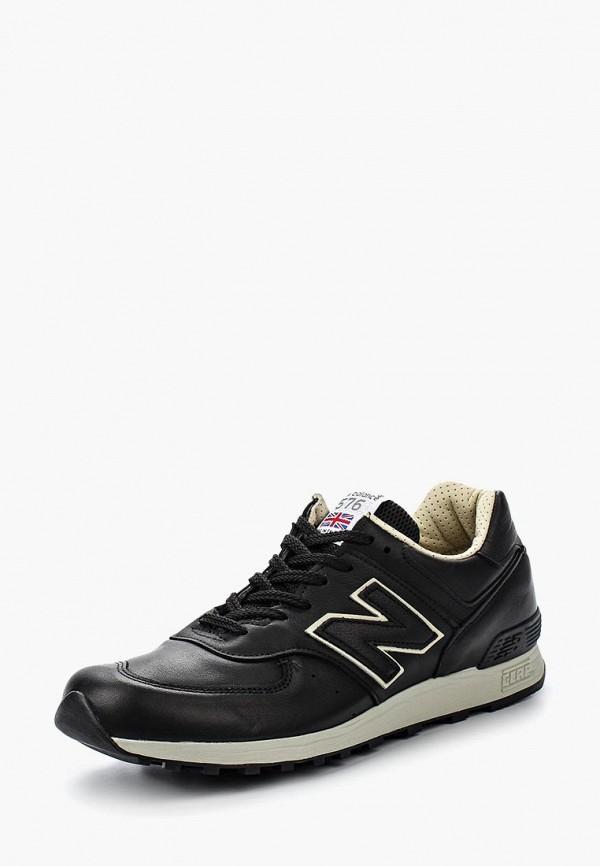 Купить Кроссовки New Balance, M576 (UK) LEATHER PACK, ne007amgiy51, черный, Осень-зима 2018/2019