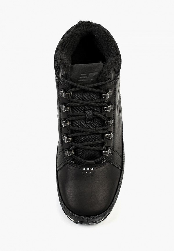Фото 4 - мужские кроссовки New Balance черного цвета