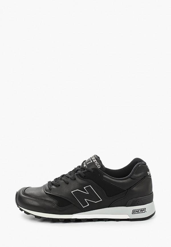 мужские кроссовки new balance, черные
