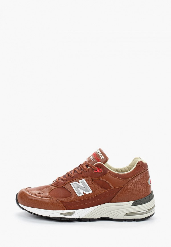мужские кроссовки new balance, коричневые