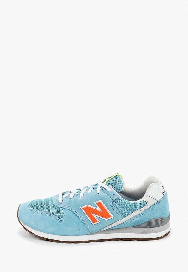 мужские низкие кроссовки new balance, голубые