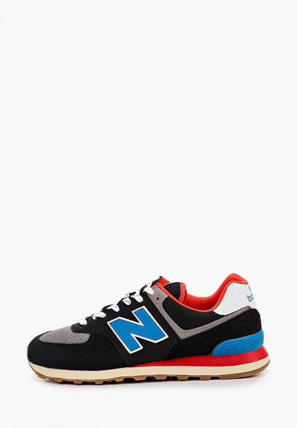 мужские низкие кроссовки new balance, черные