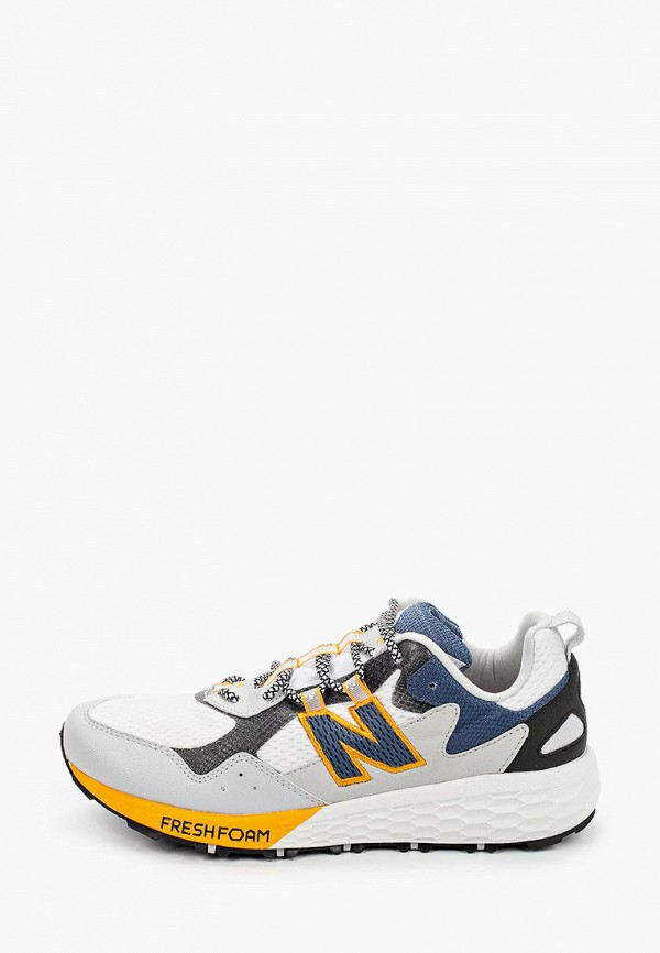 мужские низкие кроссовки new balance, разноцветные