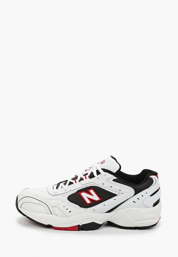 мужские кроссовки new balance, белые