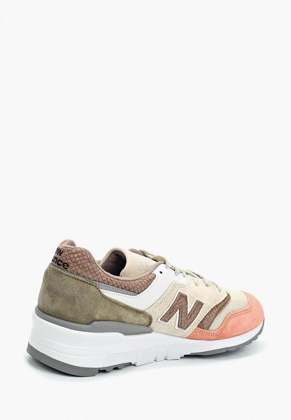 Фото 2 - мужские кроссовки New Balance разноцветного цвета