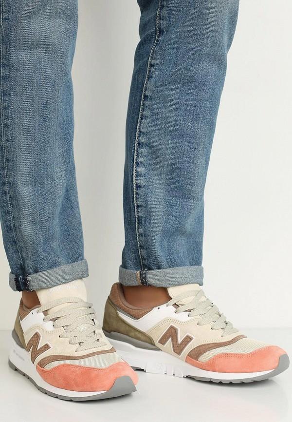 Фото 5 - мужские кроссовки New Balance разноцветного цвета