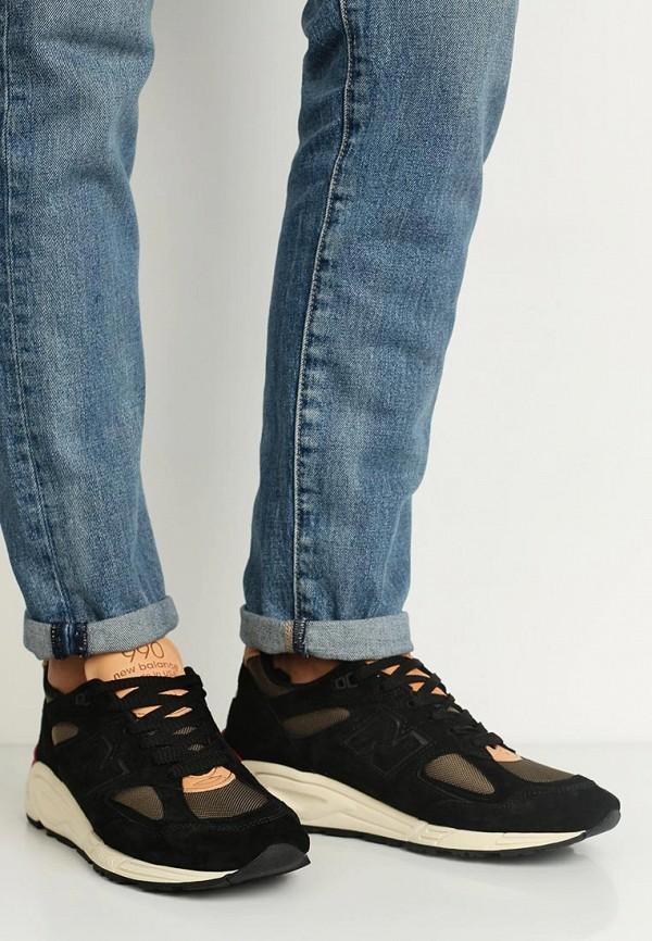 Фото 5 - мужские кроссовки New Balance черного цвета