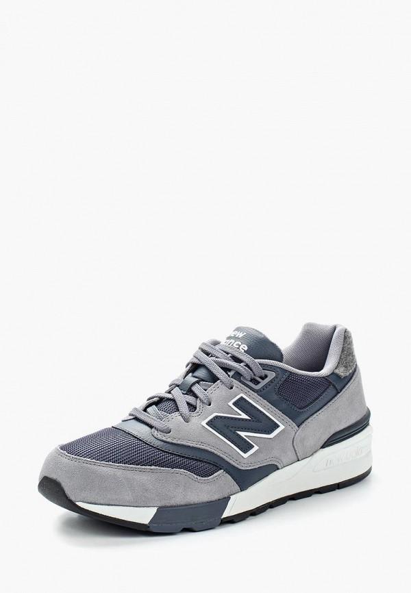 Купить Кроссовки New Balance, 597, NE007AMZXV27, серый, Весна-лето 2018