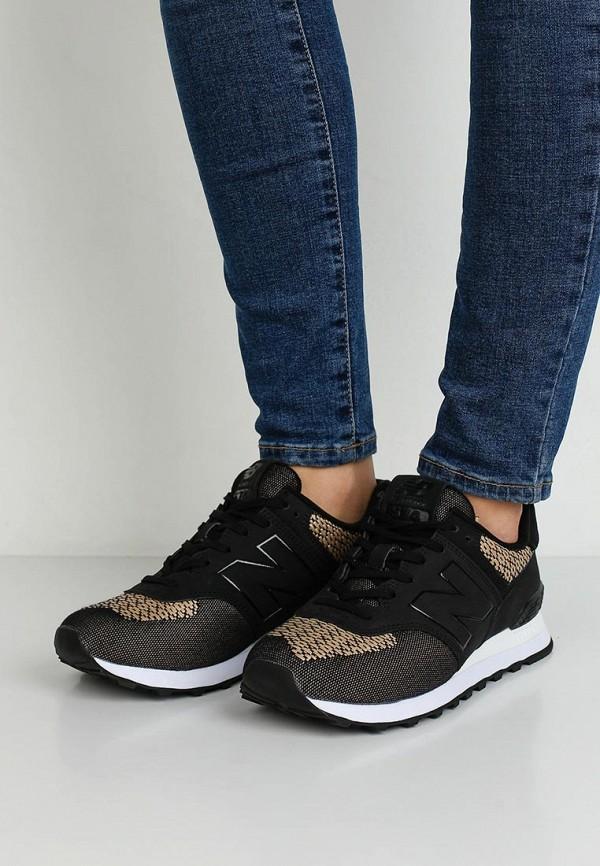 Фото 5 - женские кроссовки New Balance серого цвета