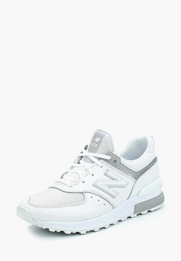 Купить Кроссовки New Balance, 574, ne007awabgu8, белый, Весна-лето 2018