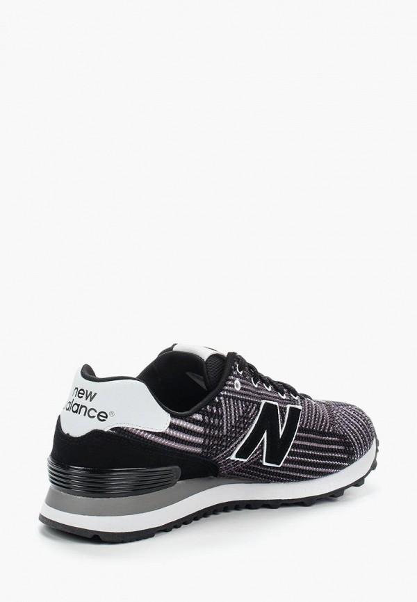 Фото 2 - женские кроссовки New Balance черного цвета