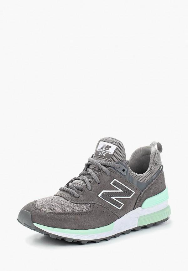 Купить Кроссовки New Balance, 574, ne007awasip6, серый, Весна-лето 2018