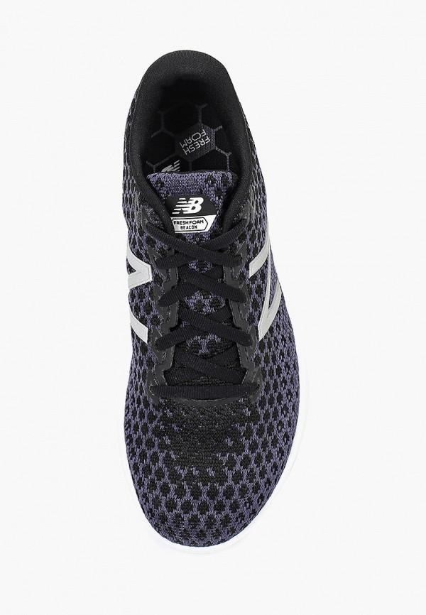 Фото 4 - женские кроссовки New Balance серого цвета