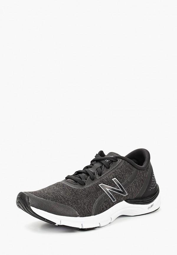 Фото - женские кроссовки New Balance черного цвета