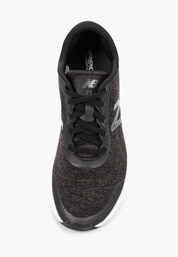 Фото 4 - женские кроссовки New Balance черного цвета