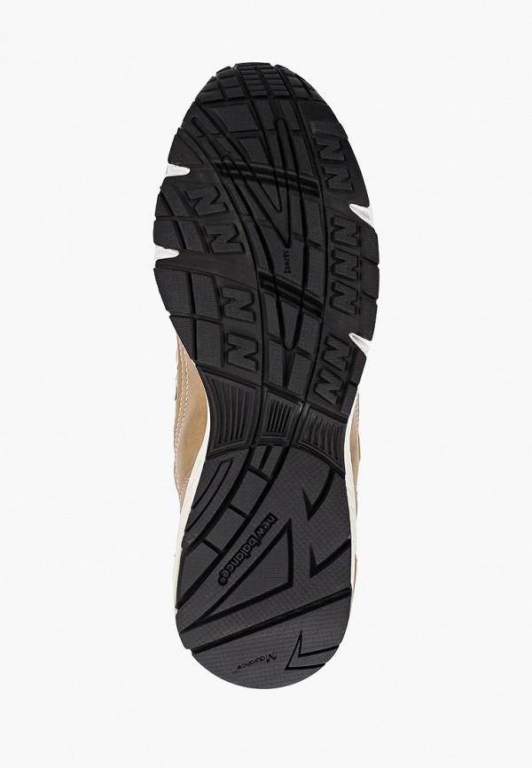 Фото 5 - женские кроссовки New Balance золотого цвета