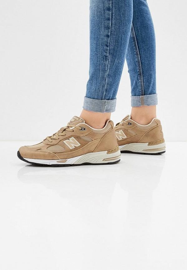 Фото 6 - женские кроссовки New Balance золотого цвета