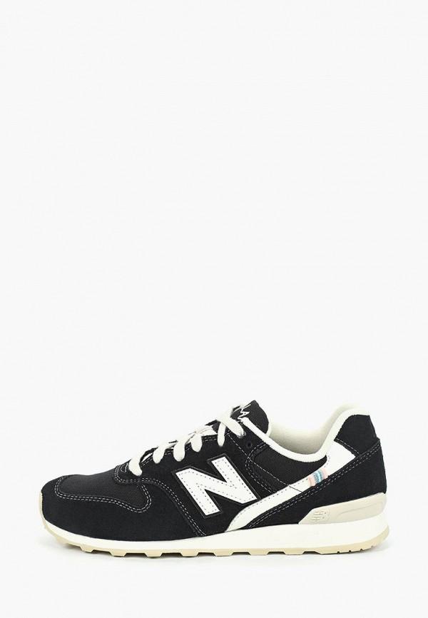 женские кроссовки new balance, черные