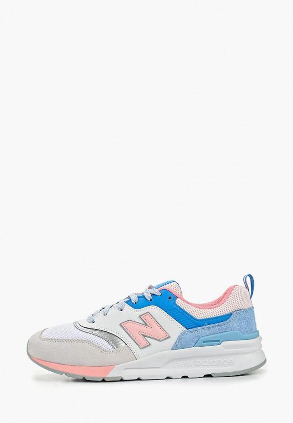 женские кроссовки new balance, разноцветные