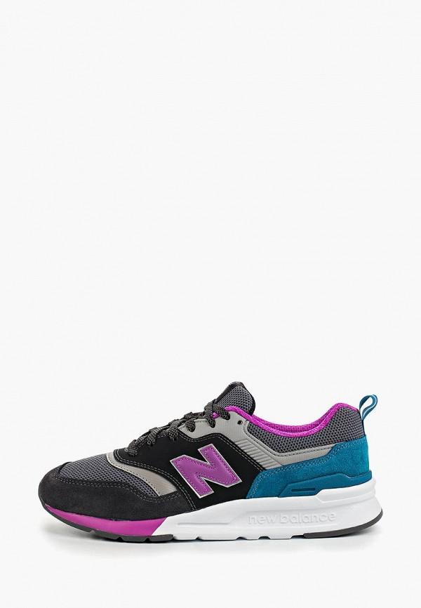 женские кроссовки new balance, серые