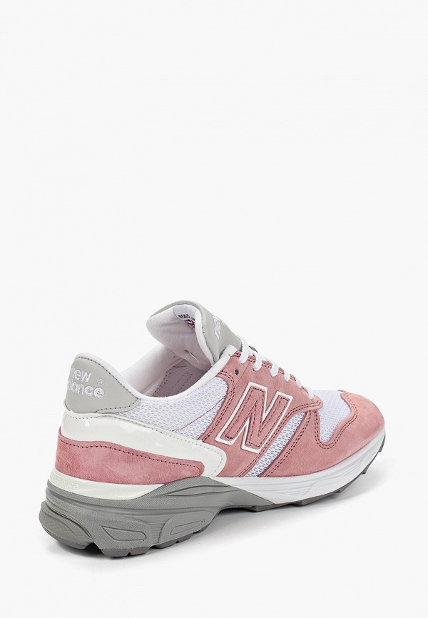 Фото 3 - женские кроссовки New Balance розового цвета