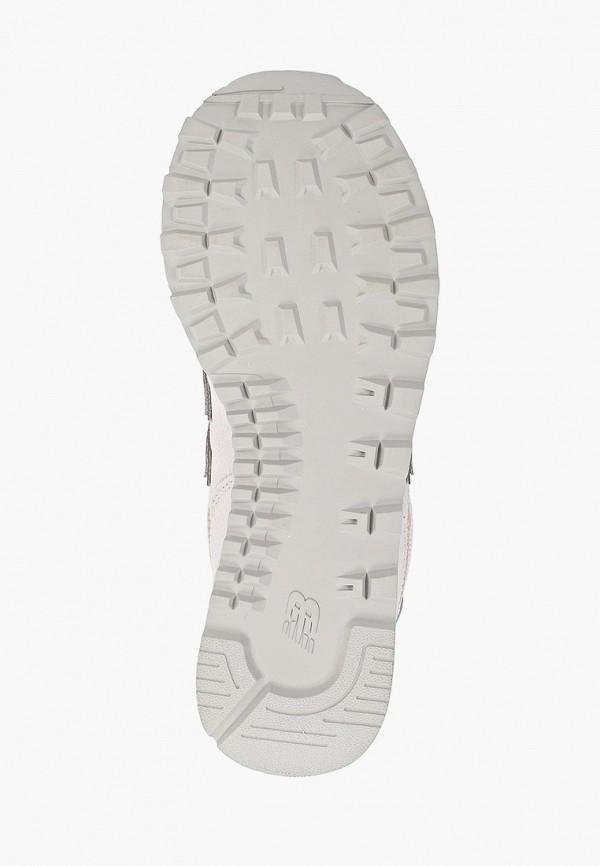 Фото 5 - женские кроссовки New Balance бежевого цвета