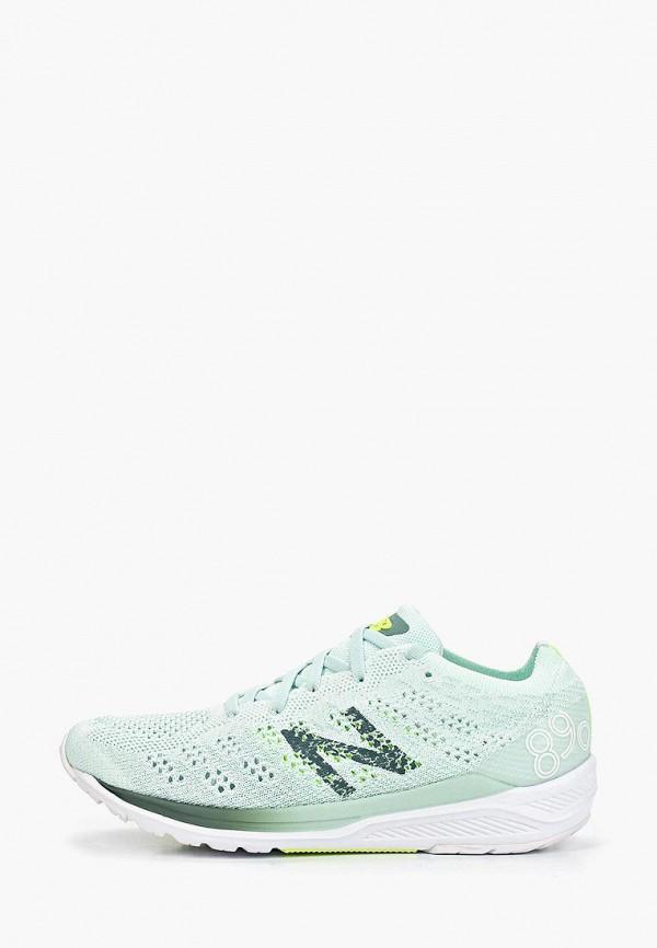 женские кроссовки new balance, бирюзовые