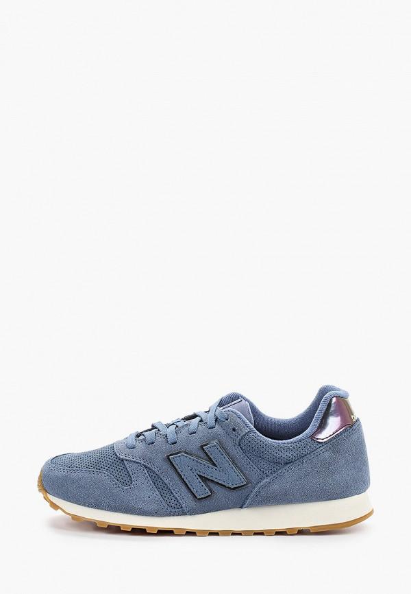 женские кроссовки new balance, синие