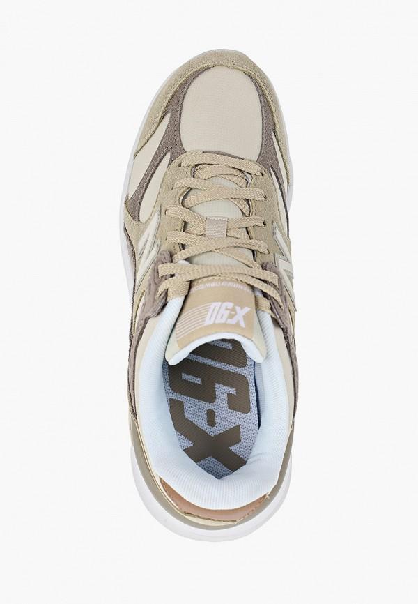 Фото 4 - женские кроссовки New Balance бежевого цвета