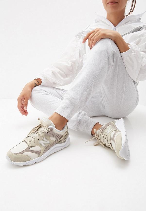 Фото 6 - женские кроссовки New Balance бежевого цвета