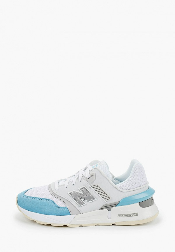 женские кроссовки new balance, белые