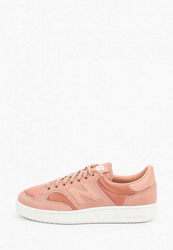 женские кеды new balance, розовые