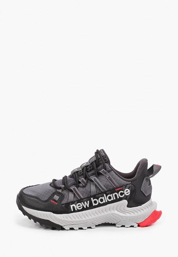 женские низкие кроссовки new balance, черные