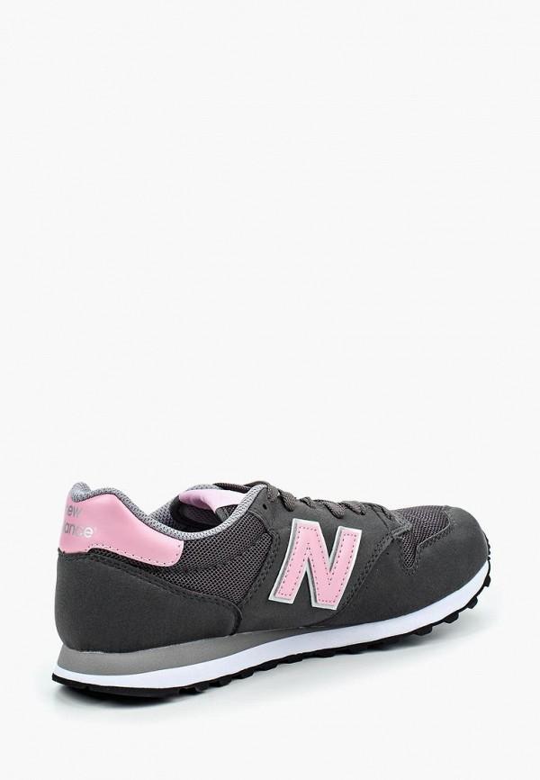 Фото 2 - женские кроссовки New Balance серого цвета