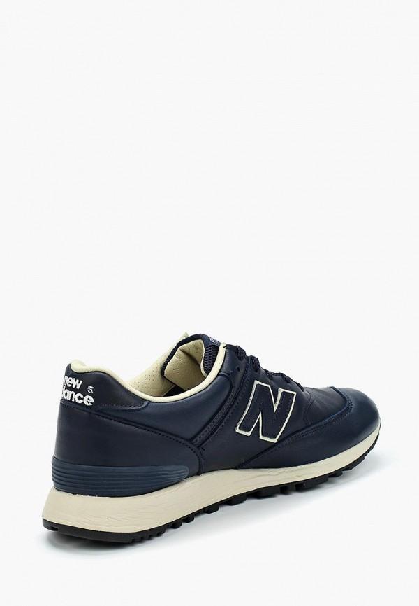Фото 7 - женские кроссовки New Balance синего цвета
