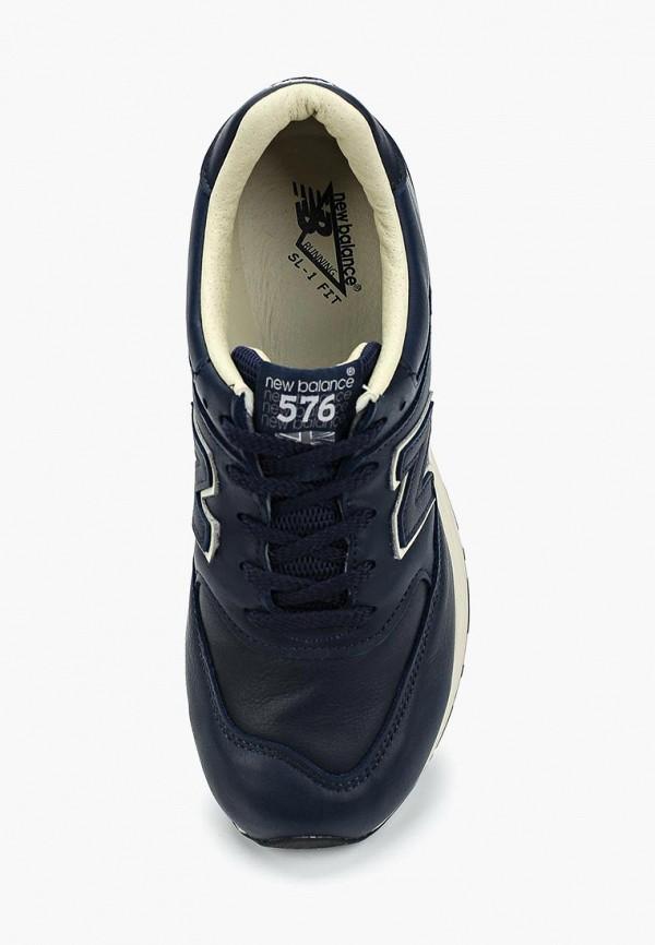 Фото 9 - женские кроссовки New Balance синего цвета