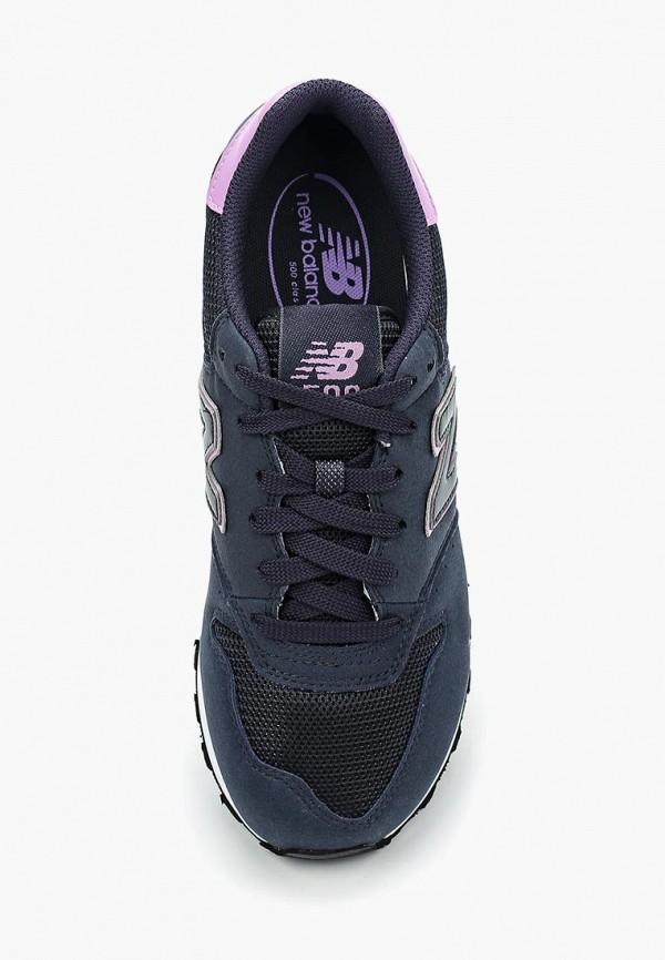Фото 4 - женские кроссовки New Balance синего цвета