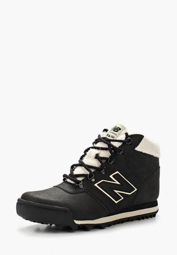 женские ботинки new balance, черные