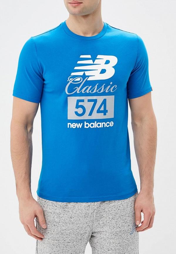 Футболка New Balance New Balance NE007EMBFUZ1 футболка new balance футболка