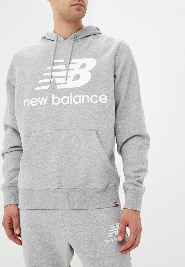 Худи New Balance New Balance NE007EMBPXI1 худи print bar skull
