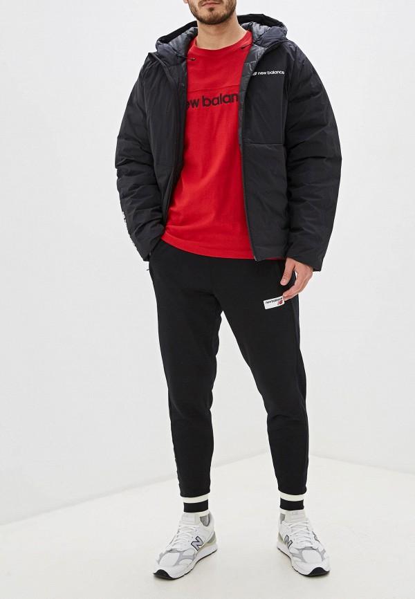 Фото 2 - Пуховик New Balance черного цвета