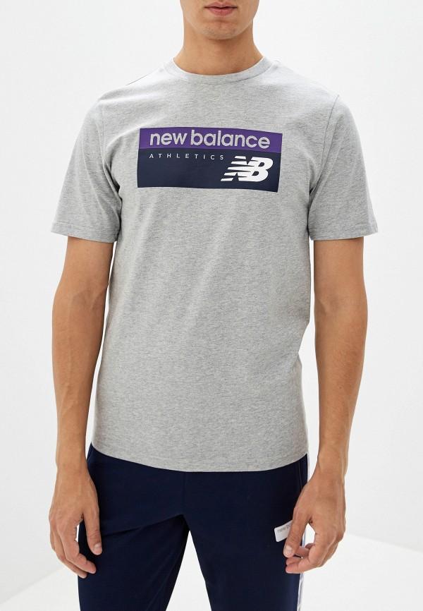 Футболка New Balance New Balance NE007EMFNIP8 рюкзак new balance new balance ne007bwdgth6