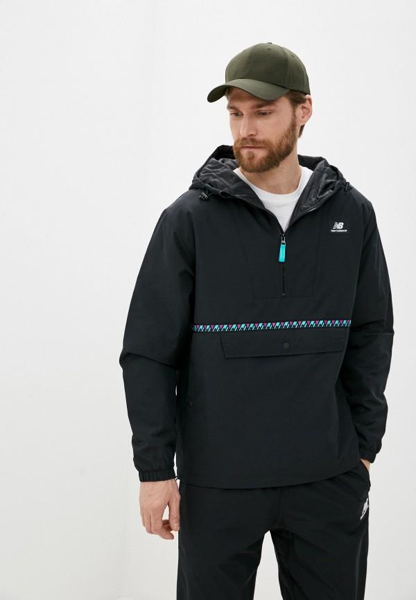 мужская куртка new balance, черная