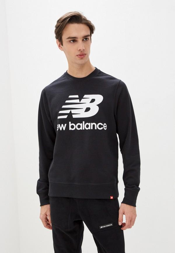 мужской свитшот new balance, черный