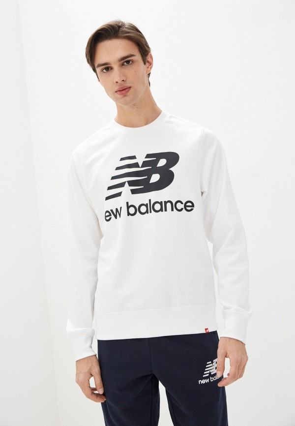 мужской свитшот new balance, белый