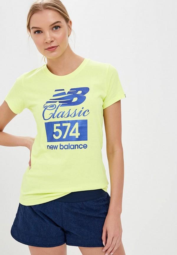 Футболка New Balance New Balance NE007EWBFVA4 футболка new balance new balance ne007embpxj0