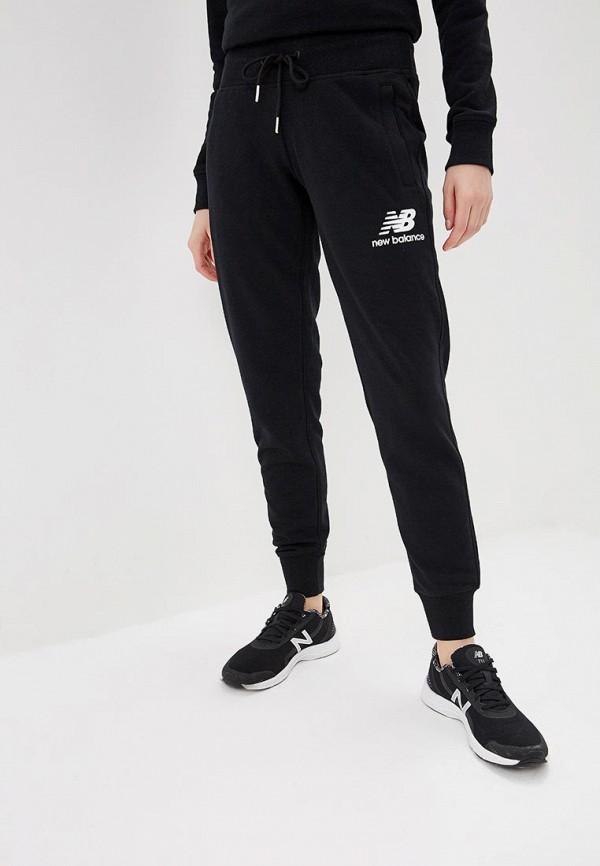 женские спортивные спортивные брюки new balance, черные
